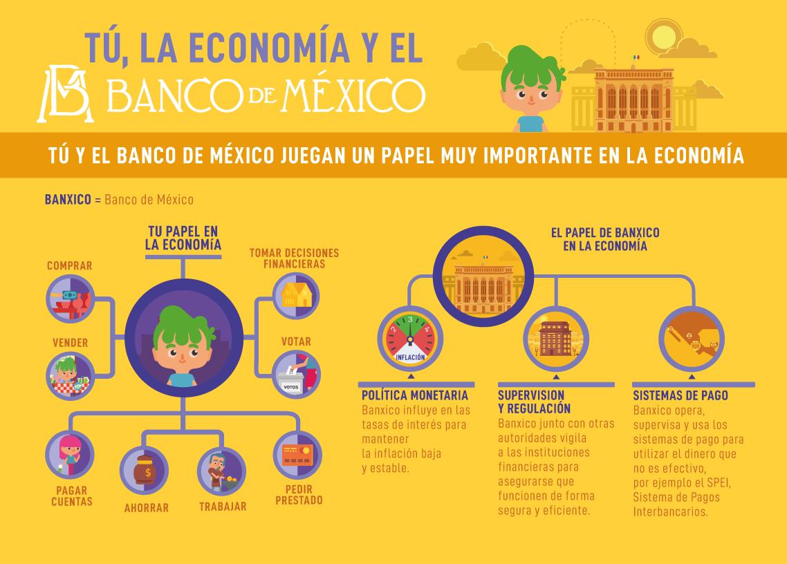 Papel en economia infografia
